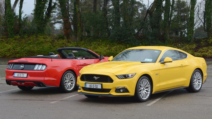 Ford Mustang review ireland