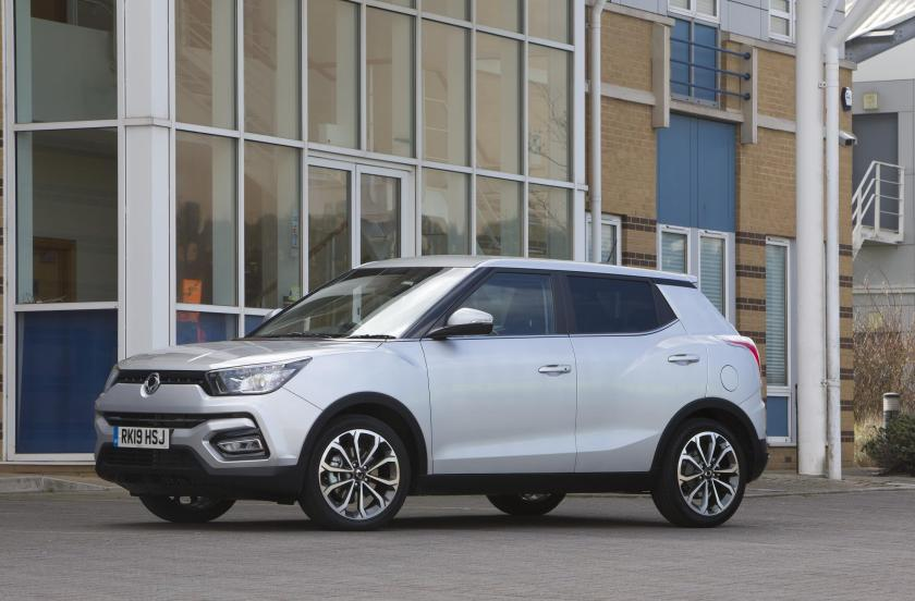 The new Ssangyong Tivoli