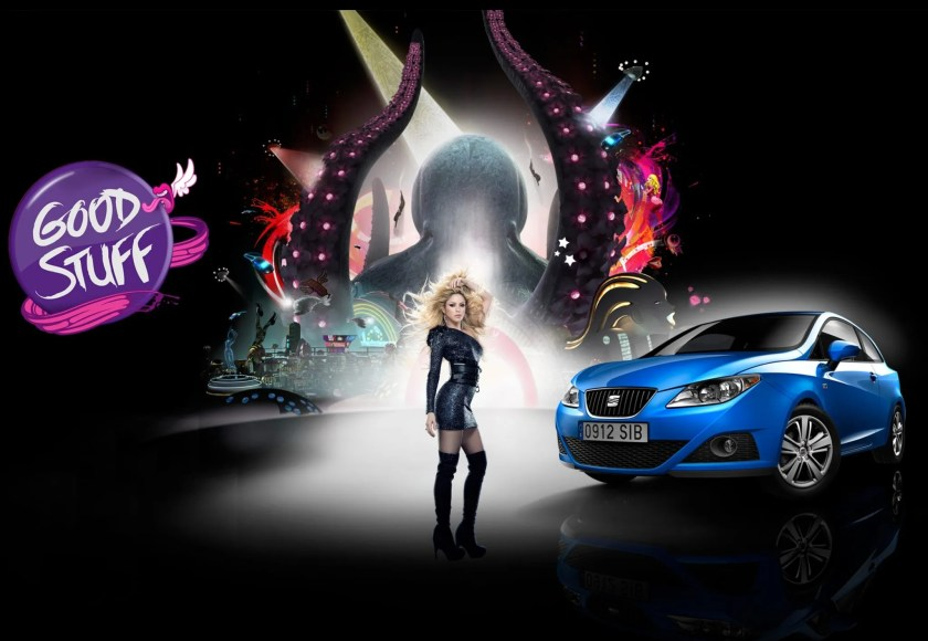 celebrity car endorsements shakira SEAT