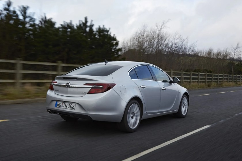 The Opel Insignia is still a great choice of large motorway cruiser car