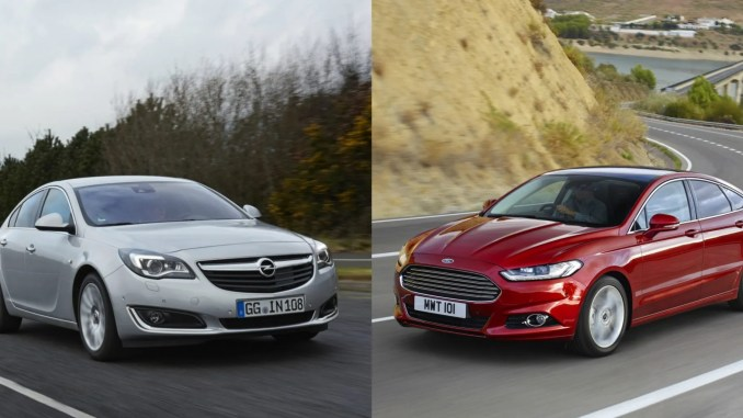 opel insignia ford mondeo comparison test ireland