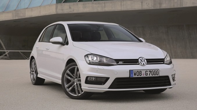 Volkswagen Golf Ireland top selling car May 2016