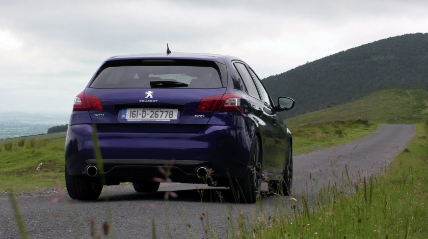 Peugeot 308 GTi ireland review