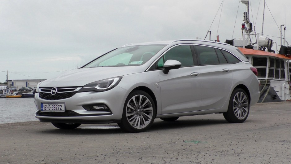 Opel Astra Sports Tourer Car Review Ireland
