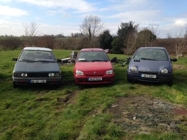 The Renault 11, Clio and Twingo