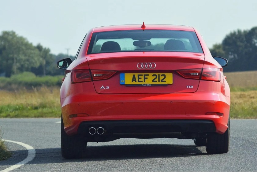 The Audi A3 Saloon is available with a range of petrol and diesel engines