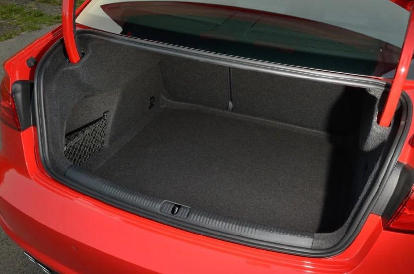 The Audi A3 Saloon makes a practical family car