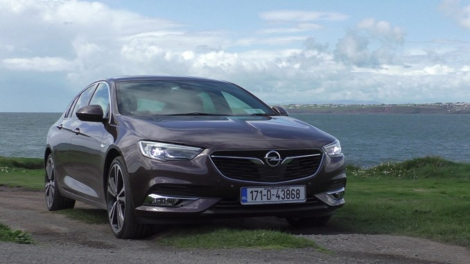 Opel Insignia Grand Sport Review Ireland