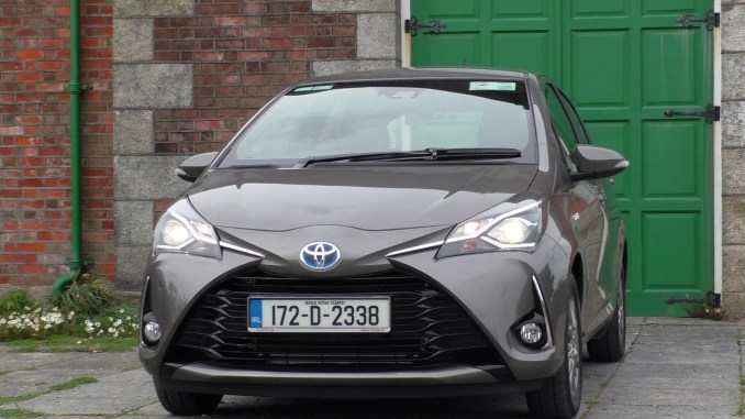 2017 Toyota Yaris Hybrid Review Changing Lanes