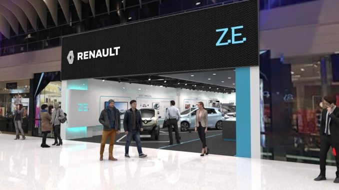 Renault is opening the first dedicated electric vehicle concept store in Europe