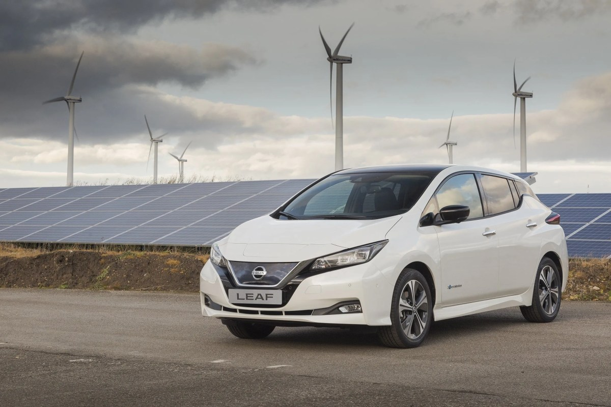 Irish Pricing For New 2018 Nissan Leaf