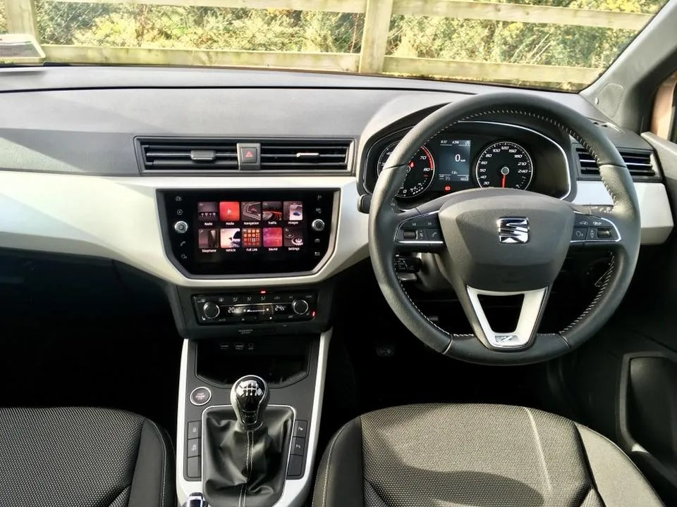 The interior of the SEAT Arona