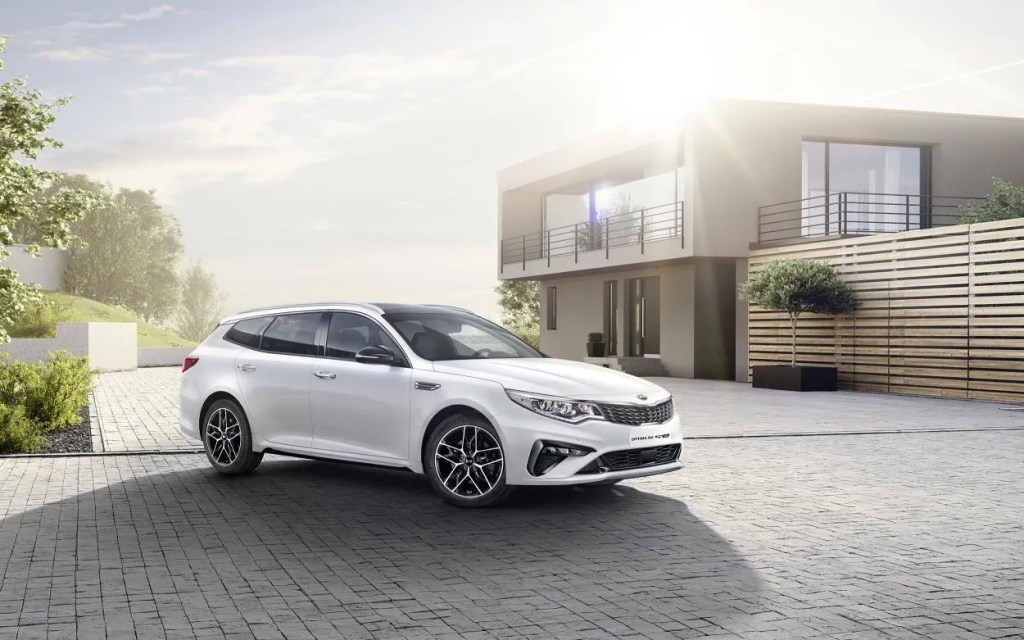 The new Kia Optima