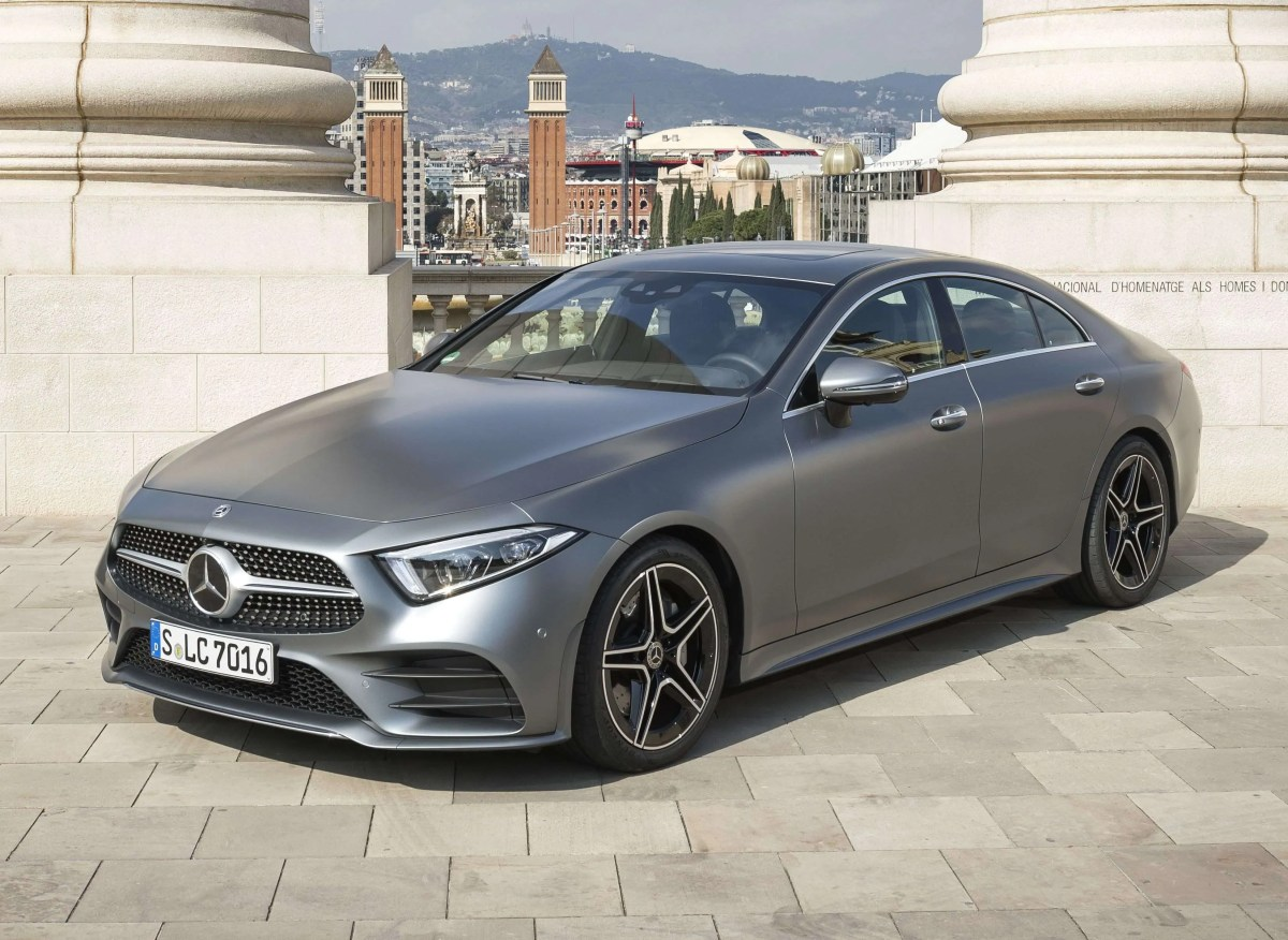 New Mercedes-Benz CLS Coupé Launched