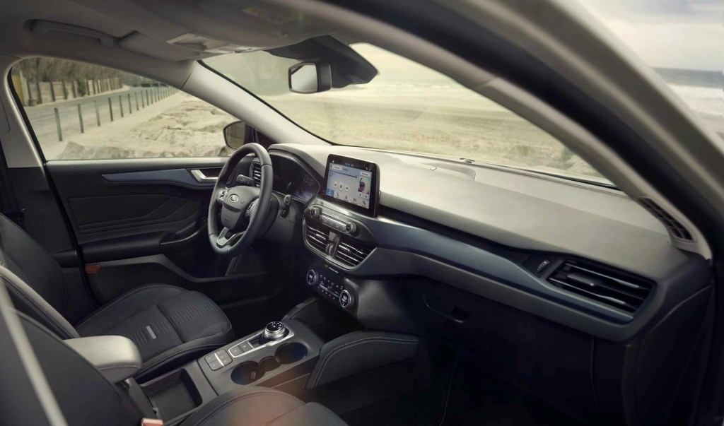 Interior of the new Ford Focus