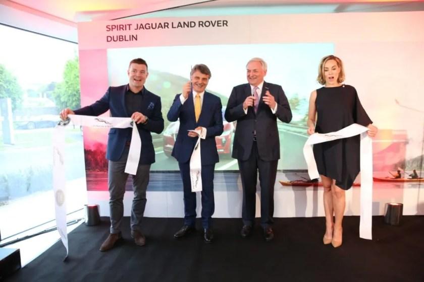 Spirit Jaguar Land Rover Opening New Showroom