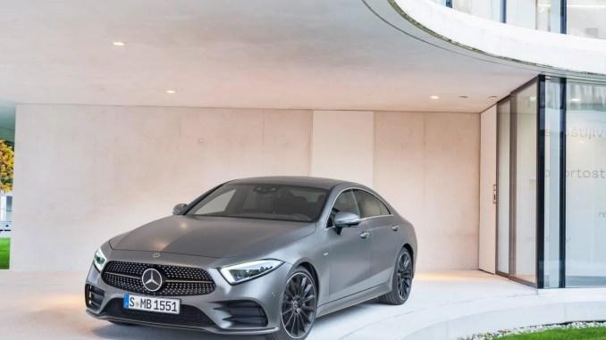 The Mercedes-Benz CLS Coupé