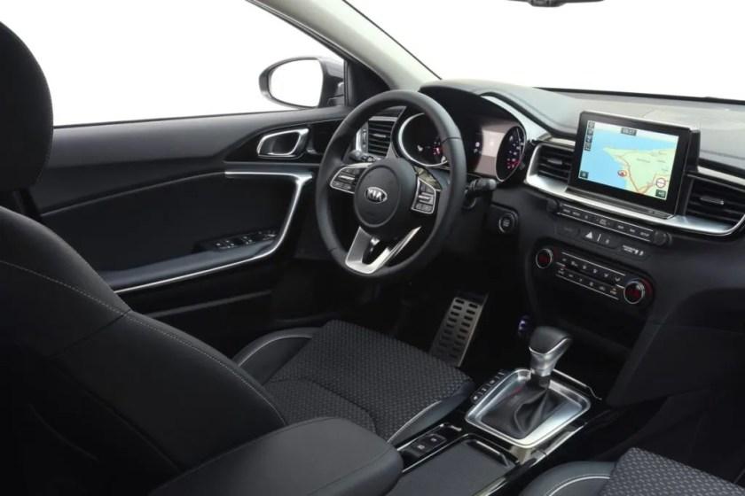 The interior of the new Kia Ceed