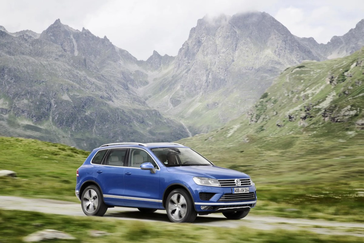 Volkswagen Ireland Push Last Of The Touareg N1 Commercials