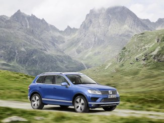 The Volkswagen Touareg