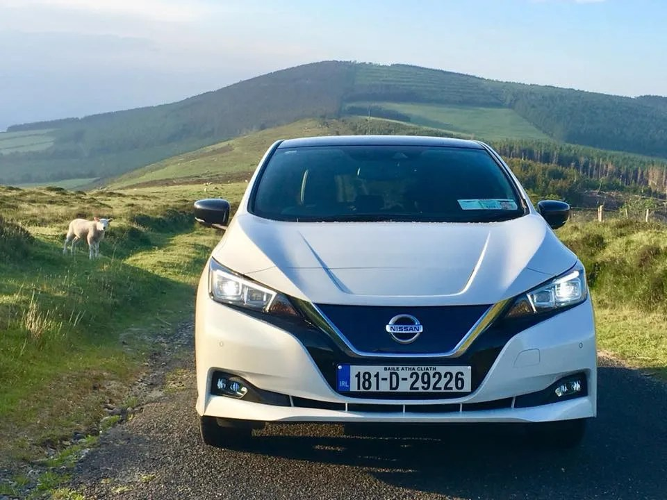 The new Nissan Leaf now has more power and more range!