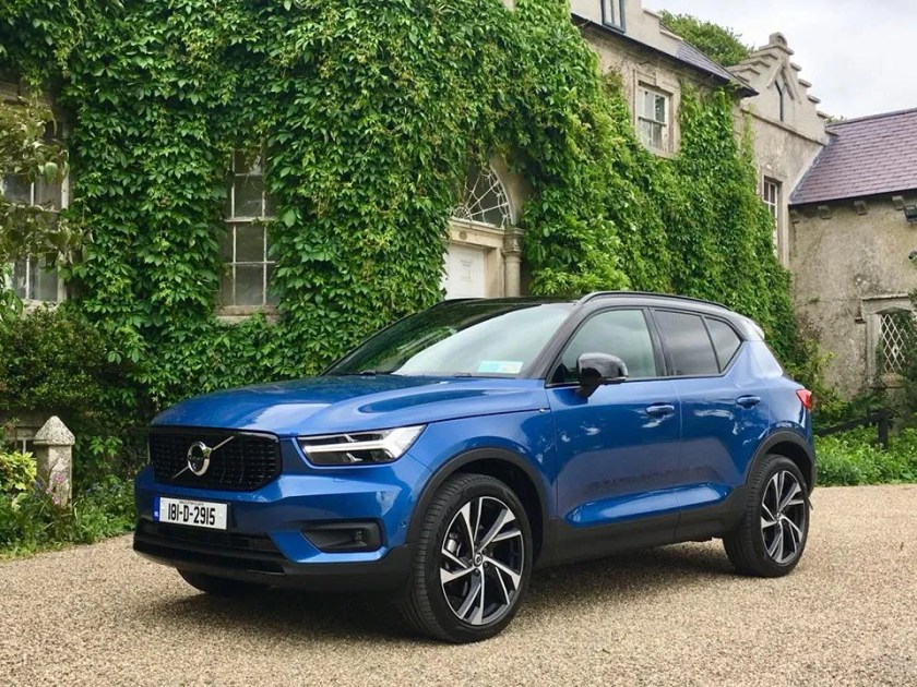 The new Volvo XC40