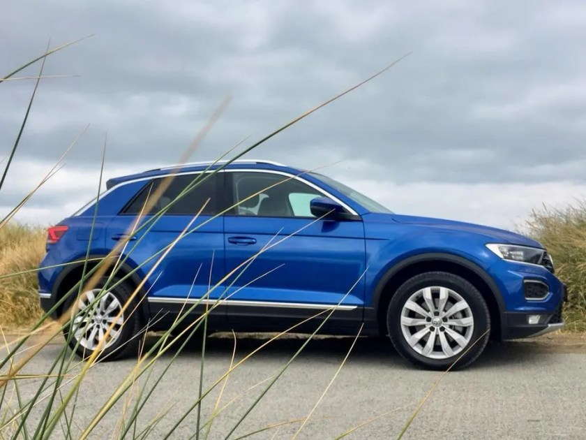 The Volkswagen T-ROC is a sporty and stylish crossover
