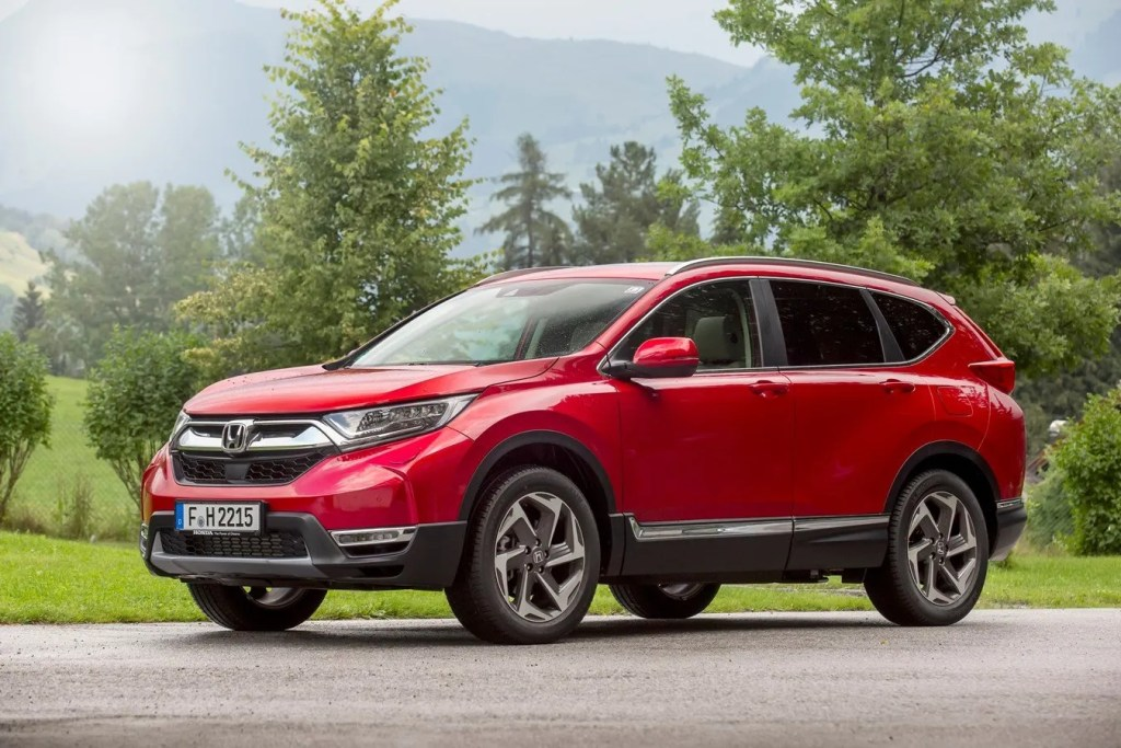 The new Honda CR-V