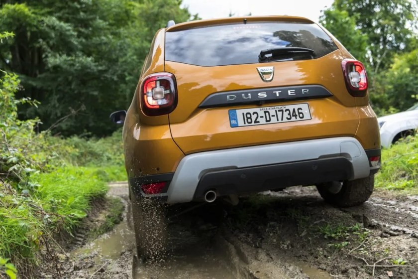The Dacia Duster is available from €17,390