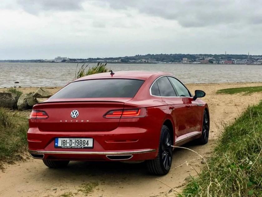 The Volkswagen Arteon is a classy, big car!