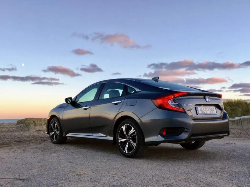 The Honda Civic Sedan range starts at €24,750
