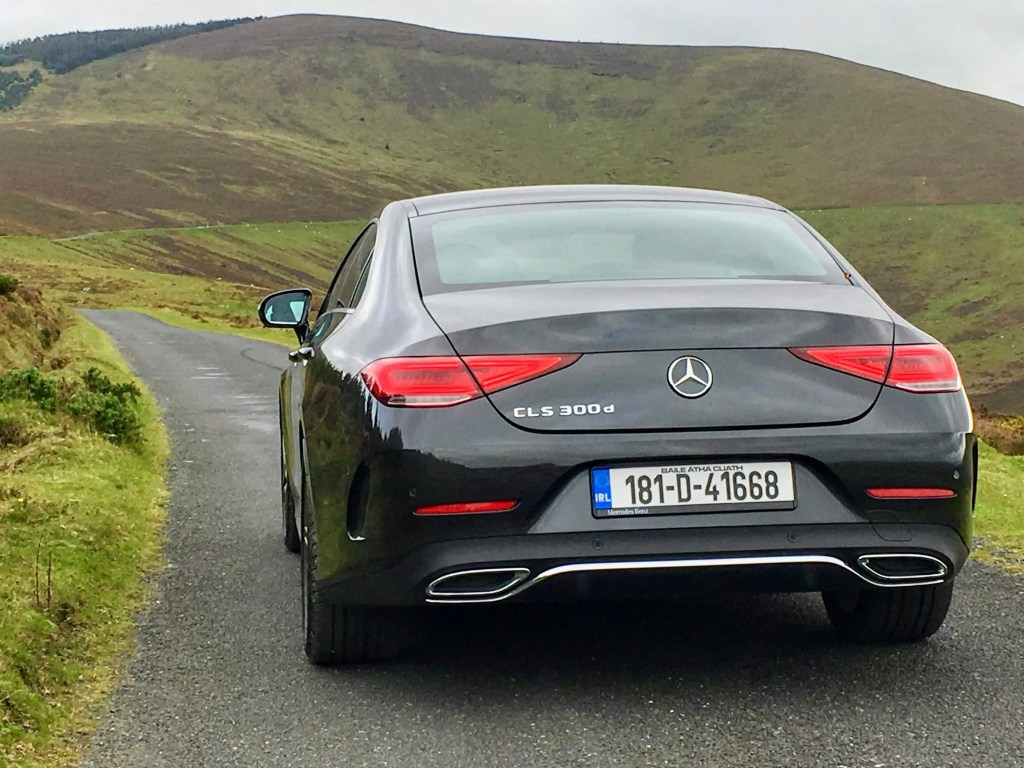 The 2018 Mercedes-Benz CLS Coupé