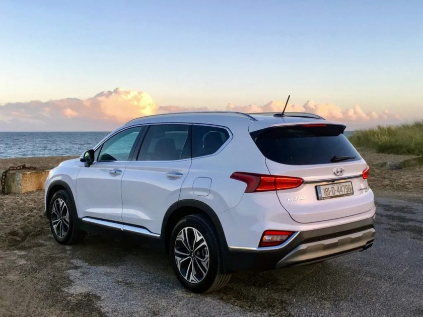 The Hyundai Santa Fe offers seating for seven