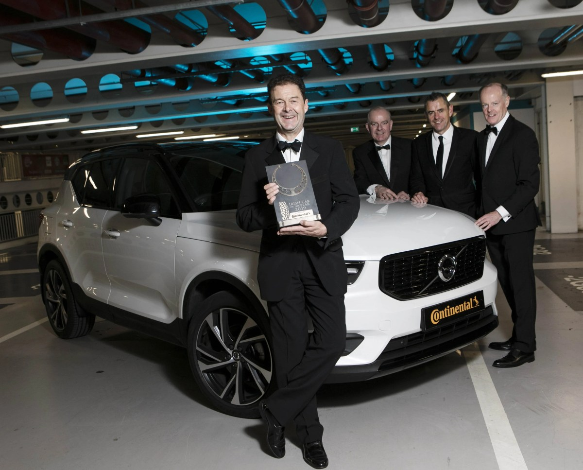 Volvo XC40 Wins Irish Car Of The Year 2019