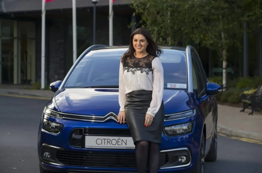 Síle Seoige and the Citroën Grand C4 Picasso