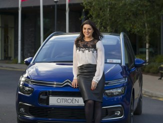 Síle Seoige and the Citroën C4 Picasso