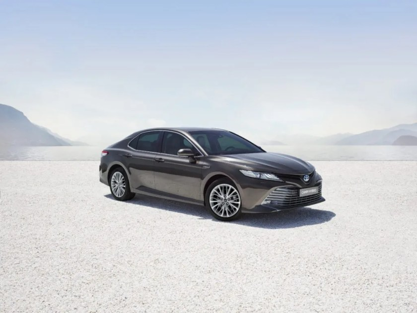 The new Toyota Camry arriving in Ireland in April