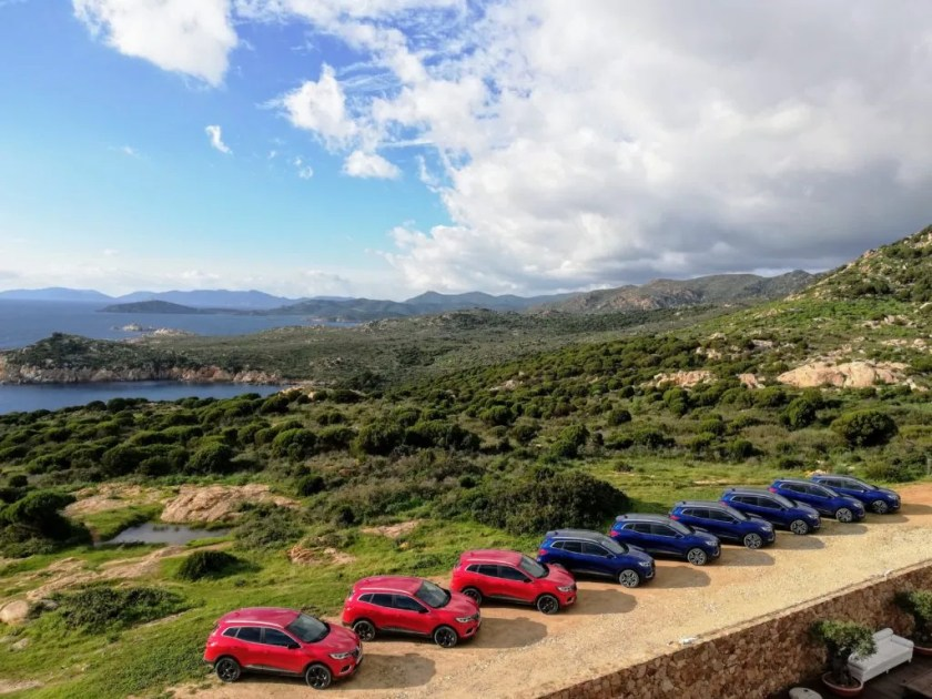 Renault chose Sardinia for the launch of the new Kadjar