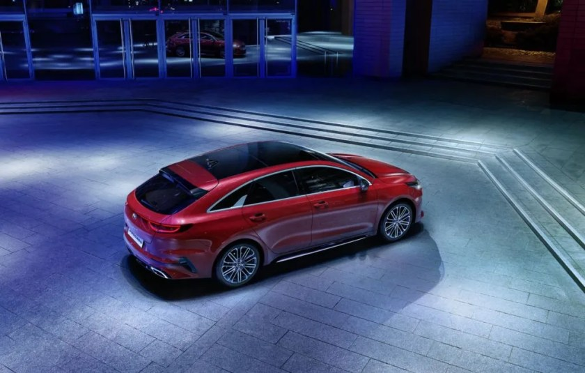 The new Kia Proceed will arrive in the spring of 2019