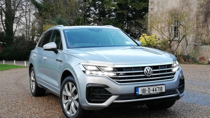 The new Volkswagen Touareg