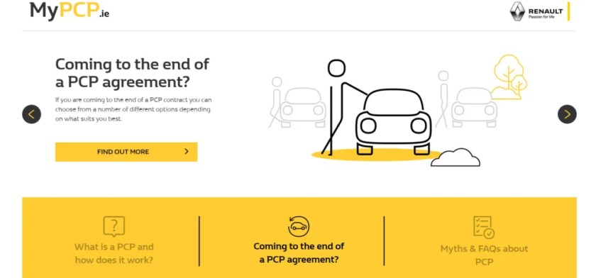 Renault Group has launched a new website to inform consumers about PCP finance
