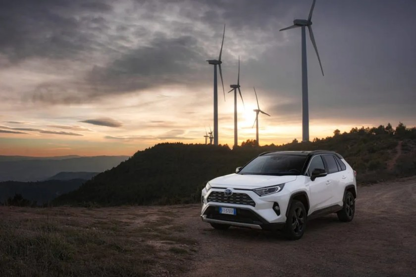 The new Toyota RAV4 Hybrid is in Toyota dealers now
