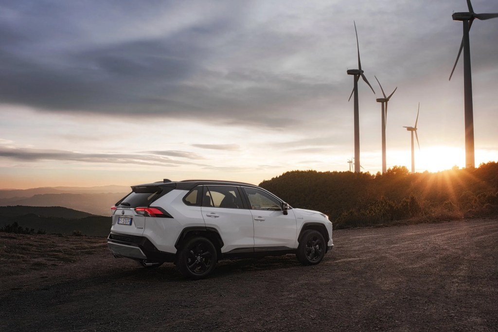 The new Toyota RAV4 Hybrid goes on sale in Ireland priced from €35,900