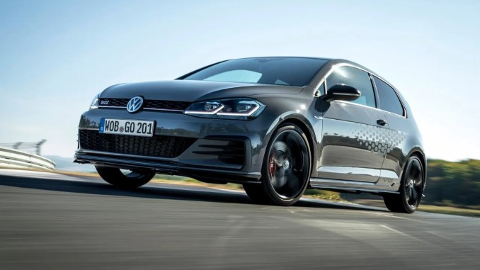 The new Volkswagen Golf GTI TCR will arrive in Ireland in March