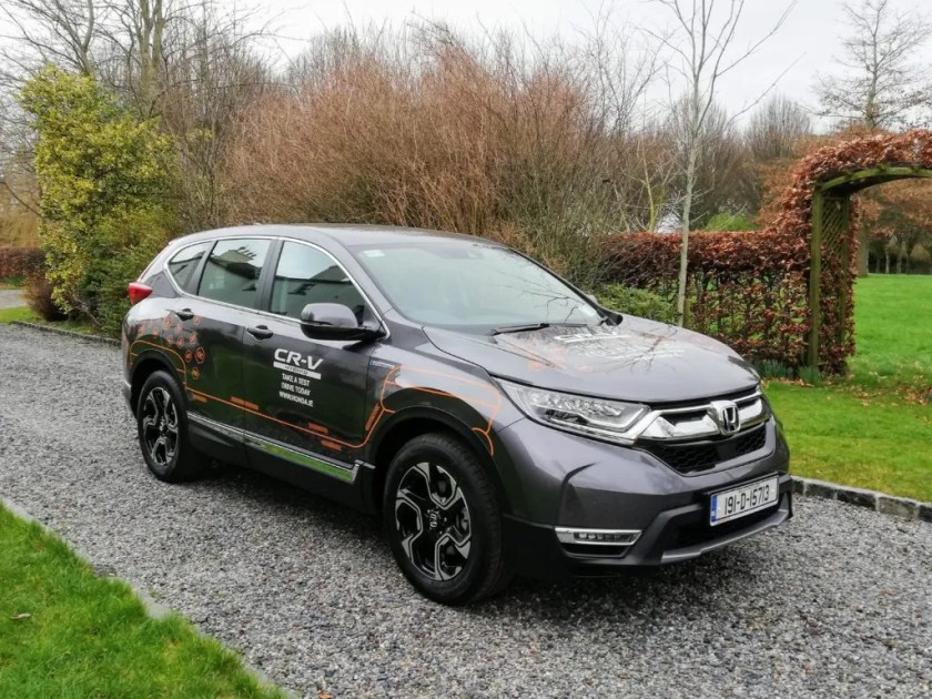 The new Honda CR-V Hybrid is available in Ireland from €38,000
