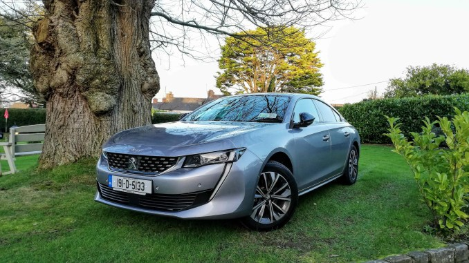The new Peugeot 508 fastback