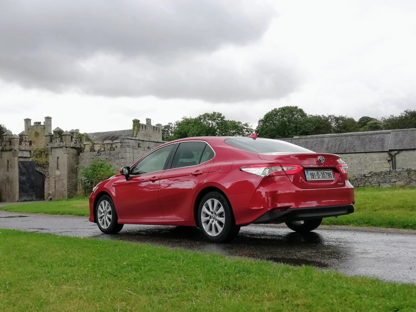 The Toyota Camry Hybrid is on sale in Ireland priced from €39,750