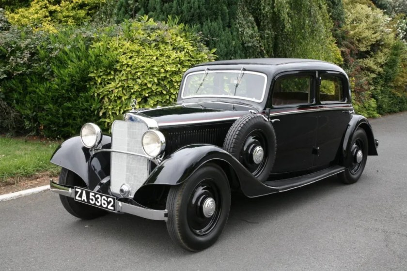 The 1935 Mercedes-Benz 200 from the O'Flaherty Mercedes-Benz Classic Collection