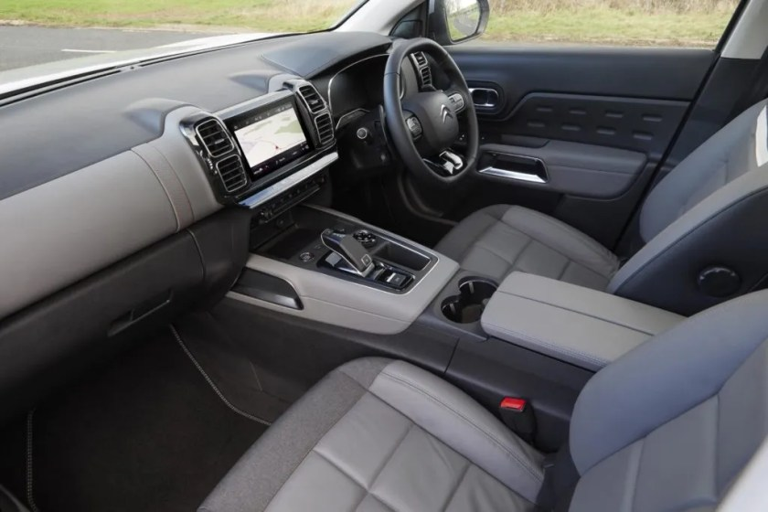 The interior of the new Citroën C5 Aircross