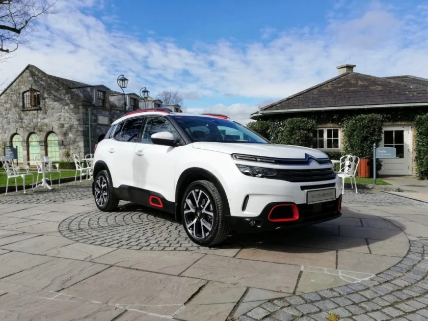 The C5 Aircross is Citroen's take on the compact family SUV